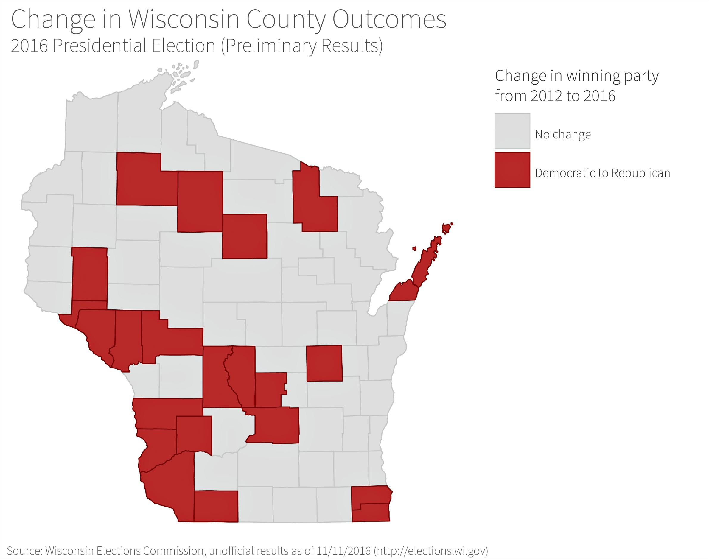 How And Where Trump Won Wisconsin in 2016 | WisContext