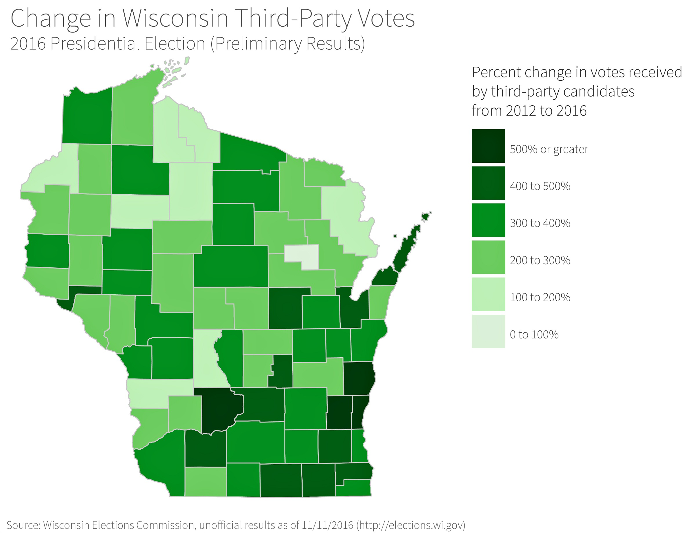 How And Where Trump Won Wisconsin In WisContext - Maps of how each demographoc vited in us 2016