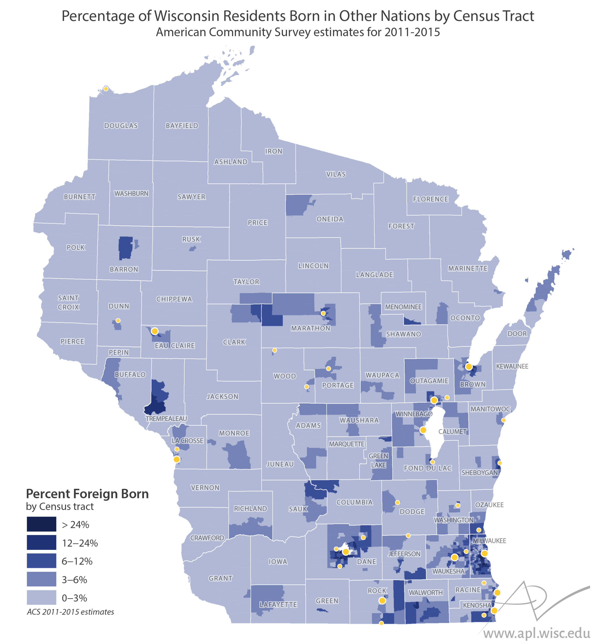 The Changing Faces Of Wisconsin\'s Foreign-Born Residents ...