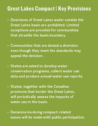 How Will The Great Lakes Compact Hold Up In A Thirsty World