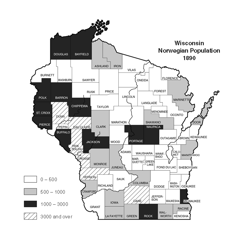 Wisconsin S Early Norwegian Press Was A Cohesive Force For Immigrants Wiscontext