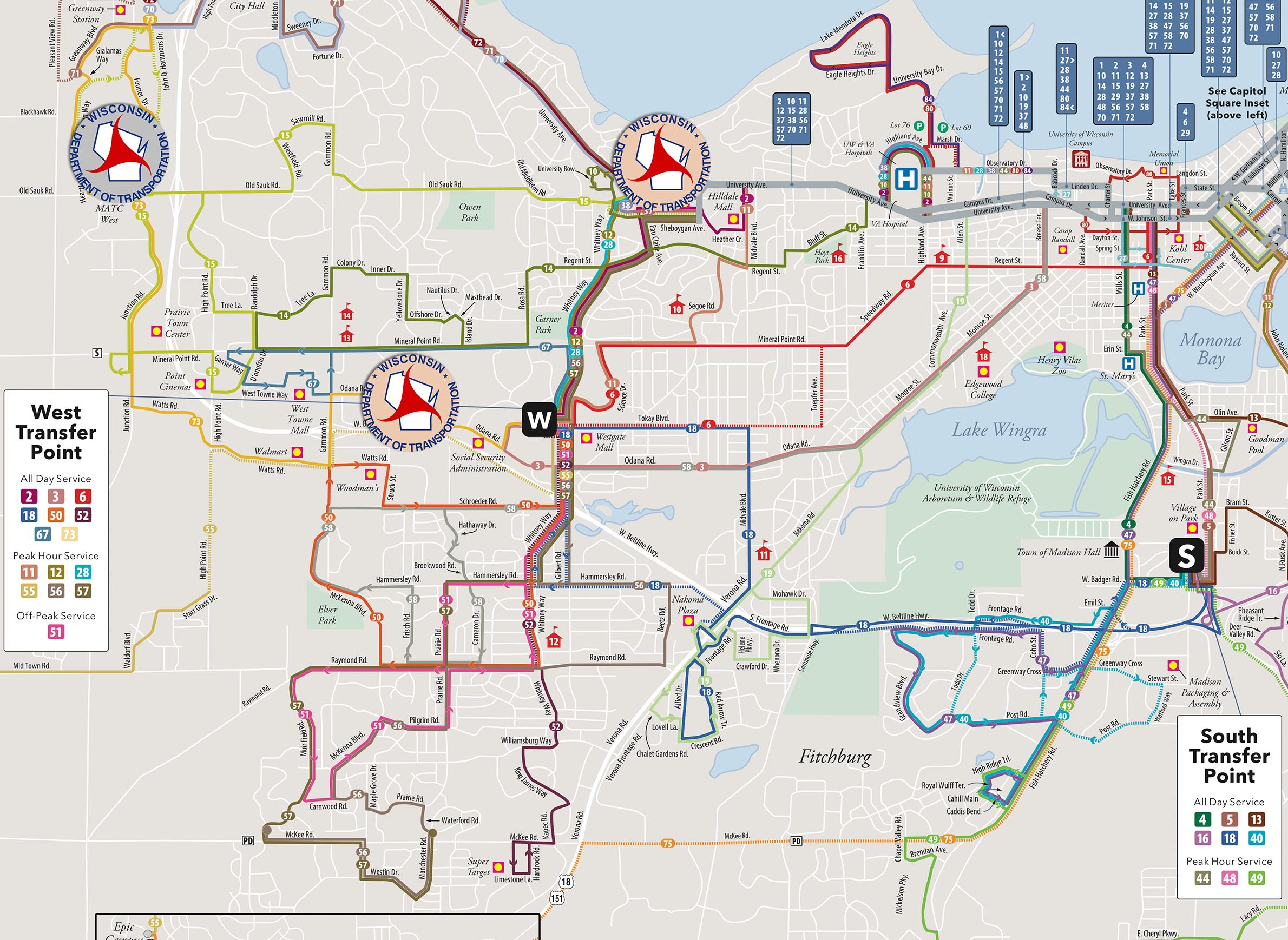 Madison Metro Map.Transit Mobility And Voter Id Requirements Collide In Madison