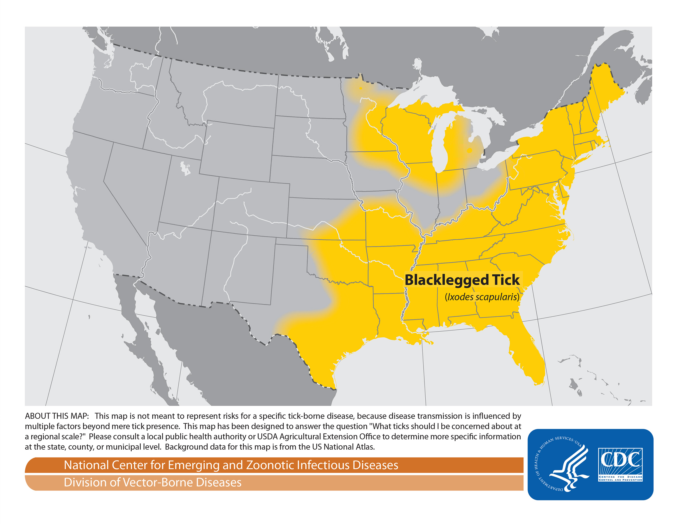Lyme Disease Usa Map.The Confounding Geography Of Lyme Disease In The U S Wiscontext