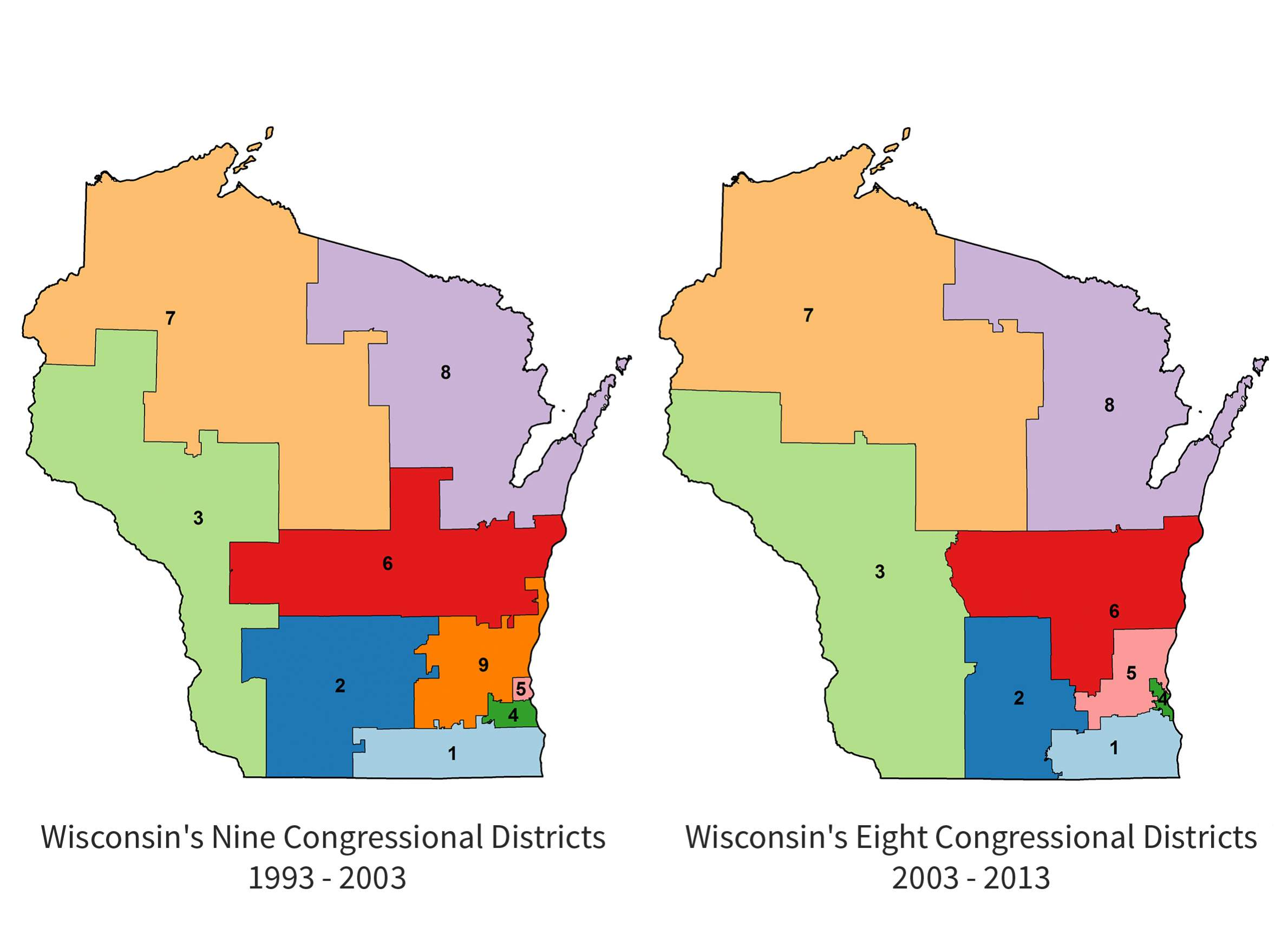 is wisconsin at risk of losing its 8th congressional seat after 2020