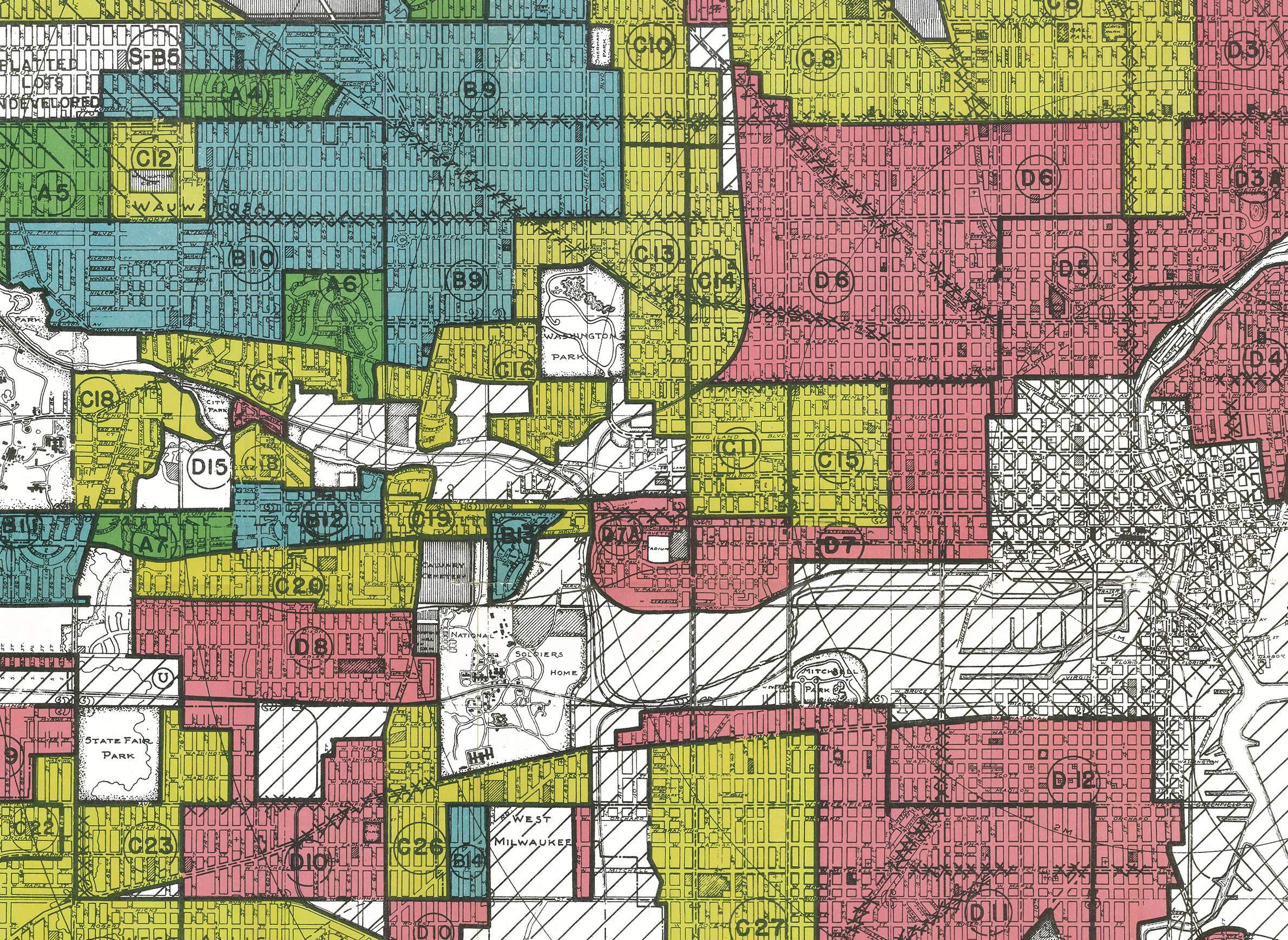 How Redlining Continues To Shape Racial Segregation In Milwaukee ...