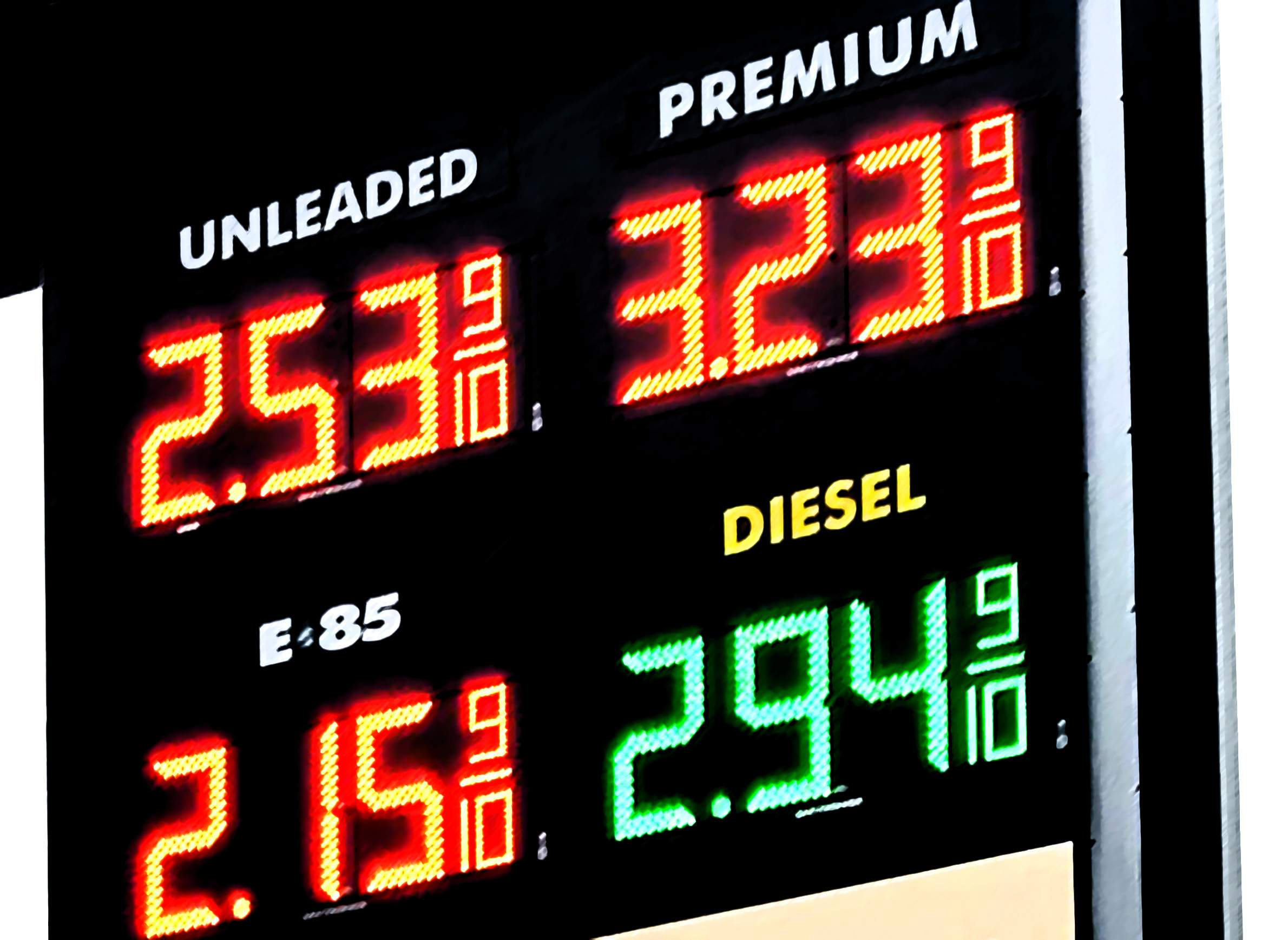 The Stubborn Similarity Of Gas Prices Across Eau Claire