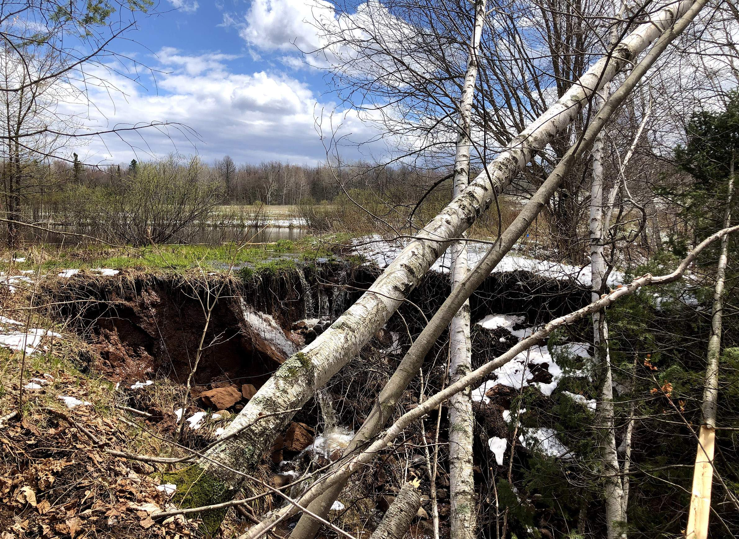 When Big Storms Inundate Wisconsin, How Could Wetlands 'Slow The