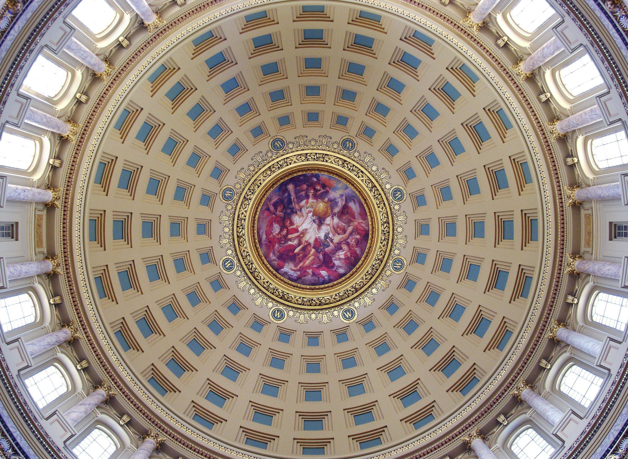 Reflecting Madisons Changing Capitol >> How Sculptors And Muralists Made Wisconsin S Capitol Building