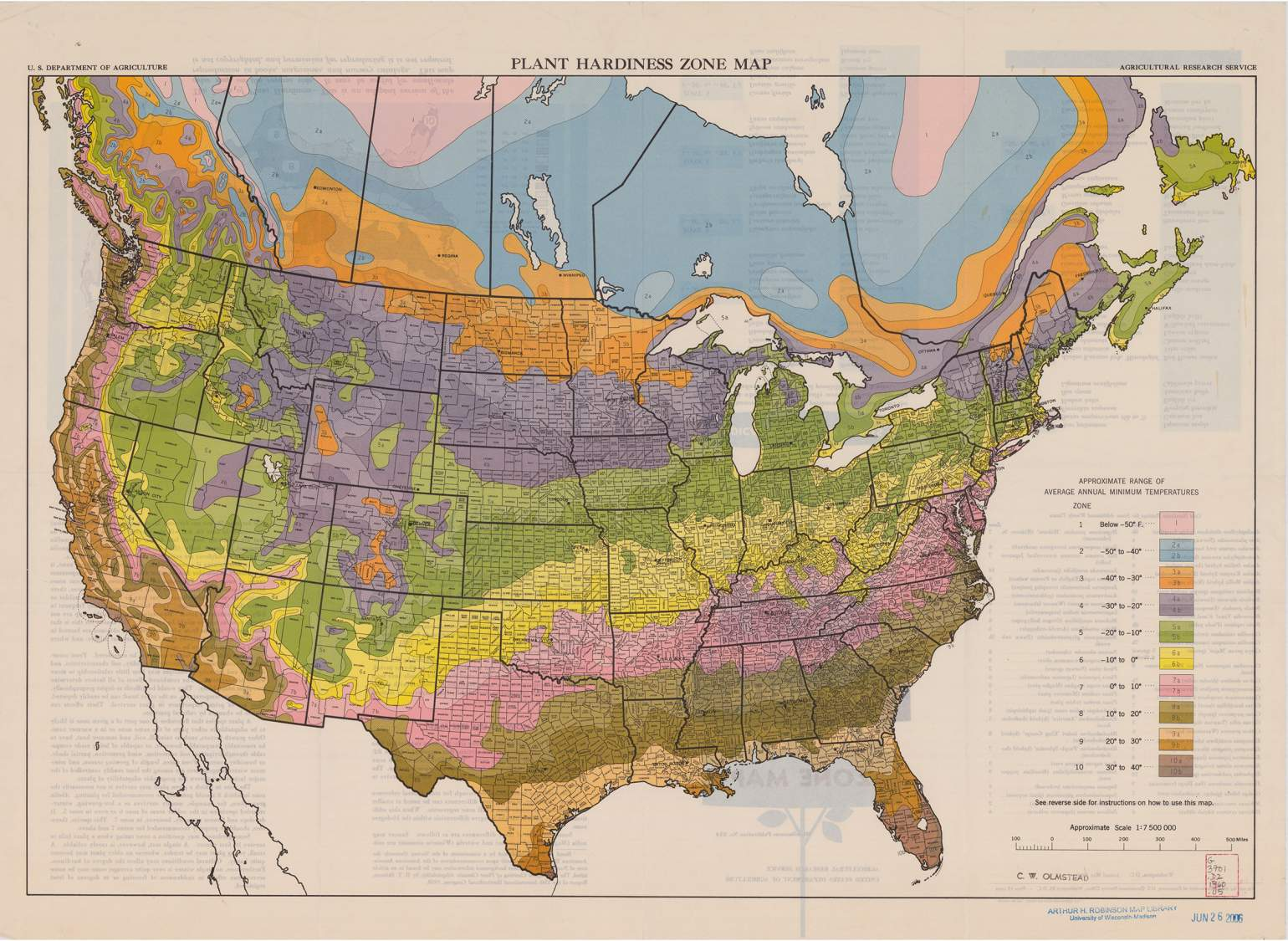 Where In Wisconsin Do Hardiness Zone Shifts Reflect A Changing - Us-plant-hardiness-zone-map
